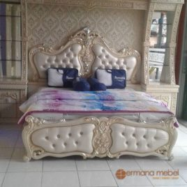 Tempat Tidur Klasik Eropa,Jual Tempat Tidur Klasik Eropa Murah, Furniture Jepara, Mebel Ukir Jati, Mebel Jepara, Permana Mebel Jepara