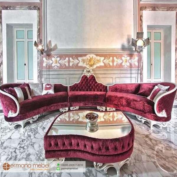 Sofa Bed Klasik Mewah, Sofa Bed Minimalis Modern,
